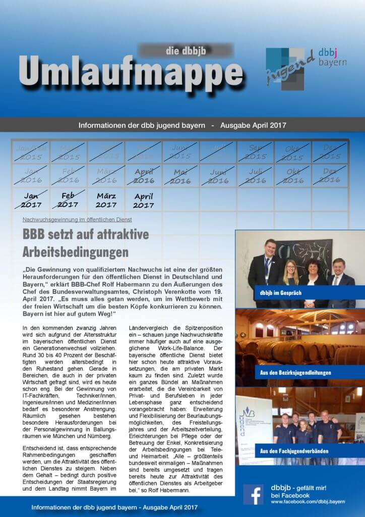 thumbnail of Die dbbjb Umlaufmappe April 2017